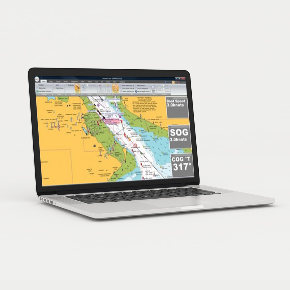 SmarterTrack is a marine navigation software