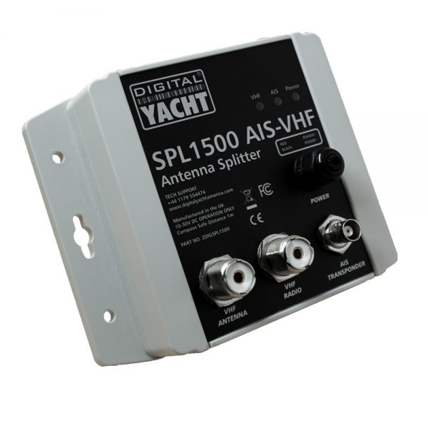 The SPL1500 is a patented zero loss VHF antenna splitter