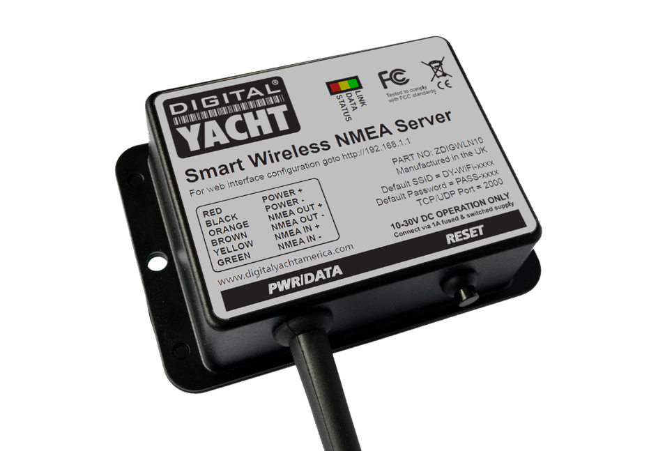 WLN10 smart NMEA to WIFi gateway