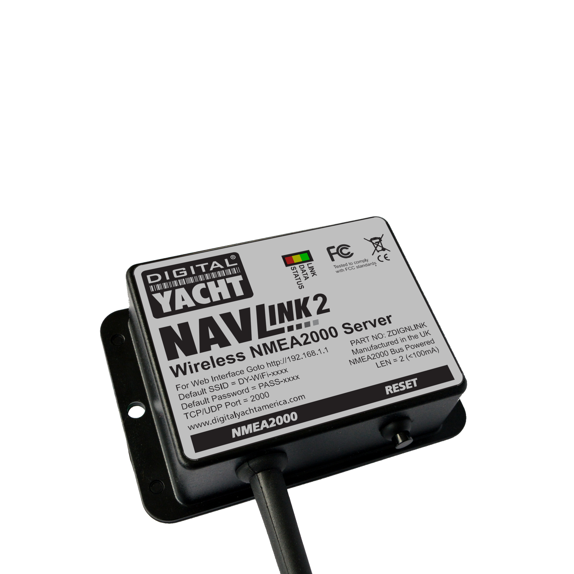 NavLink2 is an NMEA 2000 to WIfi server