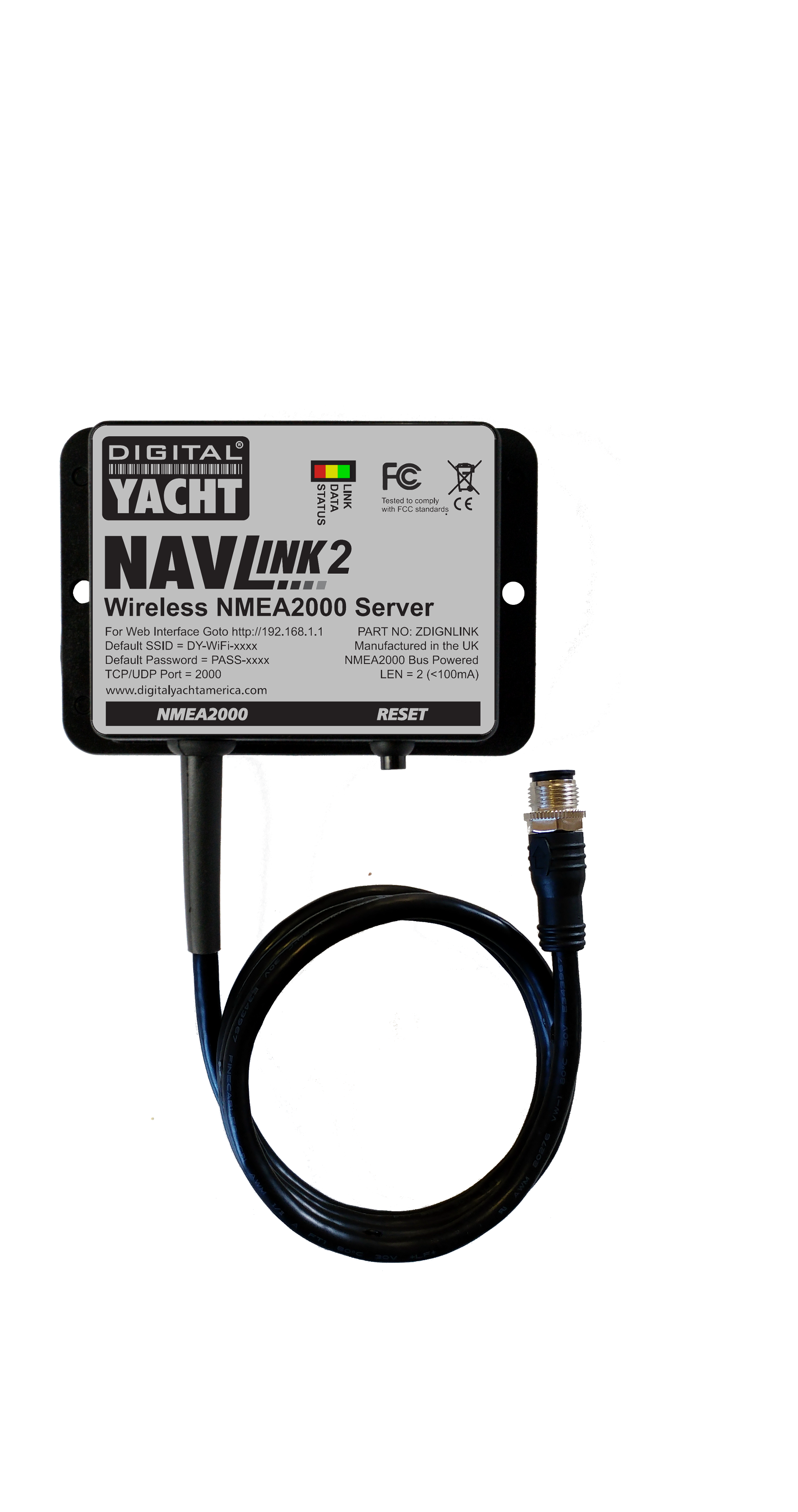 NavLink2 and its NMEA2000 cable
