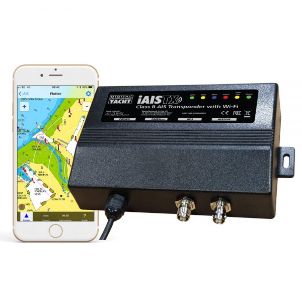 AIS transponder with a WiFI interface