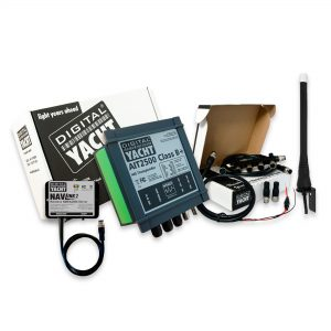 This pack includes an AIS Transponder with an NMEA 2000 to WiFi server. You can choose between the AIT2000 or AIT2500 AIS Transponder.